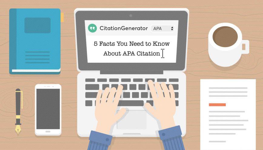 apa 6 citation generator